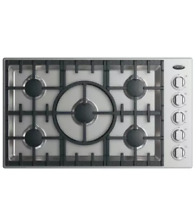 Fisher and Paykel DCS CDV2365HL 36 Inch Gas Cooktop