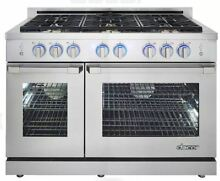 New Dacor 48  Freestanding LP Gas Range Liquid Propane RNRP48GSLP