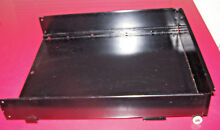GE GAS WALL OVEN BROILER DRAWER ASSEMBLY   BLACK    OEM PART WB58T10002   EUC