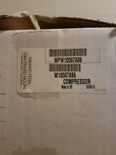 NEW OEM WHIRLPOOL REFRIGERATOR  COMPRESSOR ASSEMBLY W10560002 SUBS WPW10507886