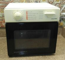 Sharp Carousel II Half Pint Microwave Oven Model R 1M53 Dorm RV    Watch Video
