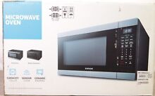 Samsung MS19M8000AG 1 9 CF 950W Black Stainless Steel Countertop Microwave