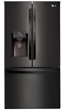 LG LFXS28566M 36 Inch Black Stainless Steel French Door Refrigerator