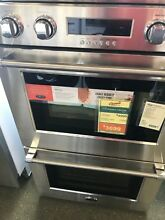 WOD230 DCS 30  DOUBLE WALL OVEN STAINLESS DISPLAY MODEL