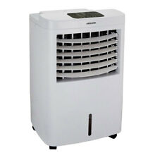 Heller 12L Portable Evaporative Humidifier Air Cooler Fan Timer Ice Compartment
