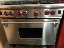 Wolf Six Burner Gas Range 36