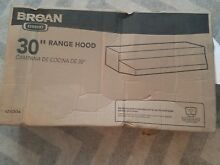 BROAN 413004 Hood  Duct Free  30 In  Stainless Steel