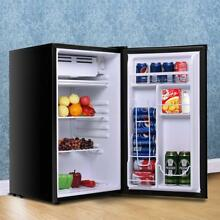 Mini Refrigerator Freezer 2 Door College Home Office Dorm Garage Man Cave NEW 01