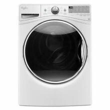 Whirlpool  White Front Load Steam Washer