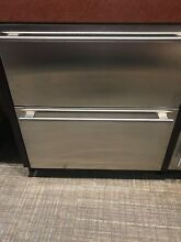 ID30RP SUBZERO 30  UNDER COUNTER FRIDGE DRAWERS PANEL READY DISPLAY MODEL
