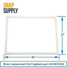 Door Gasket  White  for Frigidaire Part   241872502