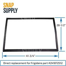 Door Gasket  Black  for Frigidaire Part   241872512