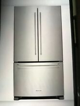 KITCHENAID 35 INCH STANDARD DEPHT FRENCH BOTTOM FREEZER REFRIGERATOR