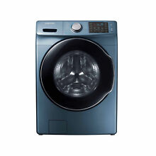 Samsung WF45M5500AZ  Azure Blue Front Load Steam Washer