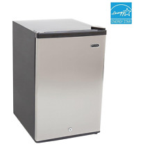 Whynter 2 1 cu ft Compact Upright Freezer Manual Defrost w  Lock Stainless Steel