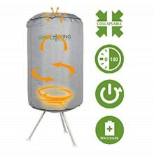 Simple Living Products Collapsible Electric Round Portable Clothes Dryer   10KG