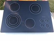 KITCHENAID KECC508 BLACK 30   TOUCH ELECTRIC COOKTOP STOVE