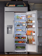 LG Studio Ultra Large Capacity Side By Side Refrigerator LSSB2691ST with Ice H2O