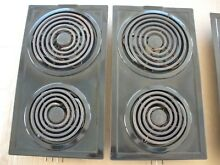 Jenn air A100 Model Electric Two Coil Burner   Black