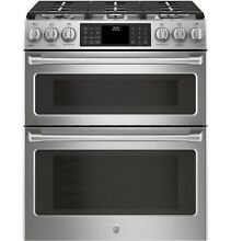 GE Caf  C2S995SELSS 30  SlideIn Front Control Dual Fuel Double Oven w Convection