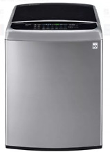 LG TurboWash Series WT1701CV 27 In Graphite Steel Top Load Washer