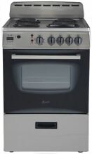 Avanti 24  Stainless Steel Electric Range ER24P3SG