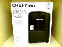Chefman Portable Personal Fridge   Black