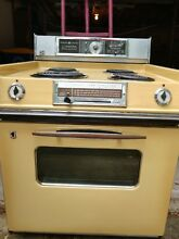 Vintage GE  General Electric P7 Electric Stove And Hood