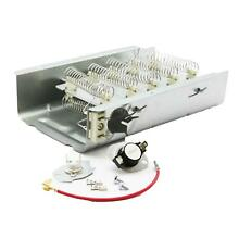 279838 AND 279816 Dryer Heating Element and Thermostat Combo Pack for Whirlpool
