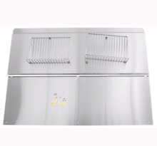 New Whirlpool Jenn Air 48  Wide Stainless Backsplash Backguard   Shelf W10285449
