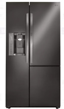 LG LSXC22386D Black Stainless Side by Side Refrigerator Door in Door