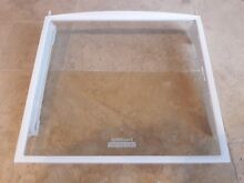 Kenmore whirlpool refrigerator snack cover glass shelf  2223516   2223288