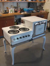 1920s GE Hotpoint Electric Range Stove   New Wiring   Parts
