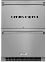 MARVEL PROFESSIONAL SERIES 24  BUILT IN REFRIGERATOR DRAWERS STAINLESS STEEL