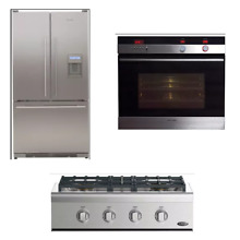 Fisher   Paykel DCS 3 PC Kitchen Package  CPV2304N  RF195AUUX1  OB30SDEPX2