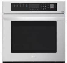 LG LWS3063ST 30 Inch Stainless Steel Single Electric Wall Oven