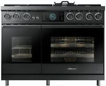 Dacor Modernist 48  Freestanding High Altitude Dual Fuel Range DOP48M96DHM