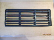 WP7772P046 60   7772P046 CH Jenn Air Downdraft Air Vent Grille Cover Black Used