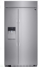 LG Studio LSSB2692ST 42 In Stainless Steel Built in Side by Side Refrigerator
