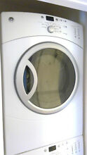 GE Front Load Washer and Gas Dryer