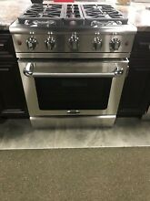 MCR304N CAPITAL PRECISION SERIES 30  GAS RANGE DISPLAY MODEL