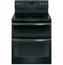 GE  JB860FJDS 30  Free Standing Electric Double Oven Convection Range