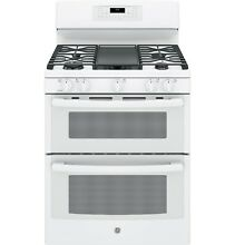 GE  JGB860DEJWW 30  Free Standing Gas Double Oven Convection Range