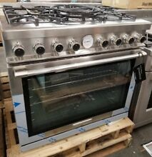TECNOGAS SUPERIORE 36  GAS RANGE STAINLESS STEEL NEXT SERIES