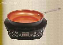 New  NuWave PIC Flex Precision Induction Cooktop 30532 with Fry Pan   Black   9