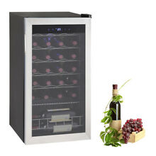 SMAD 28 Bottles Compressor Wine Fridge Wine Cooler Freestanding Wine Cellar