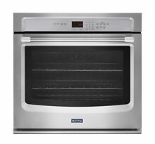 Maytag 27 in  Stainless Steel Single Electric Wall Oven Convection MEW9527DS NIB
