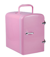 PINK New Portable Cosmetic Refrigerator 4 Liter Mini Cooler   Warmer   Car  Home