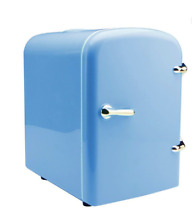 BLUE New Portable Cosmetic Refrigerator 4 Liter Mini Cooler   Warmer   Car  Home