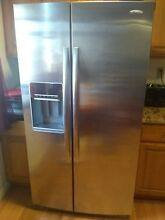 Whirlpool refrigerator Side by Side Refrigerator Stainless Steel Whirlpool gold